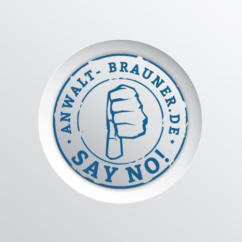 Rechtsanwalt-Brauner-Bamberg-Say-No-Say-Yes-Kampagne-NO-a