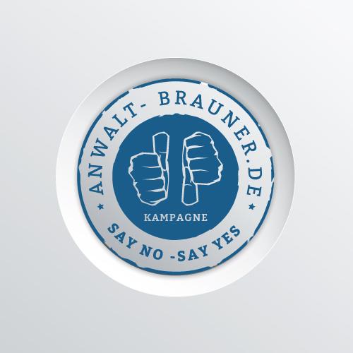 Rechtsanwalt-Brauner-Bamberg-Say-No-Say-Yes-Kampagne-Titelbild
