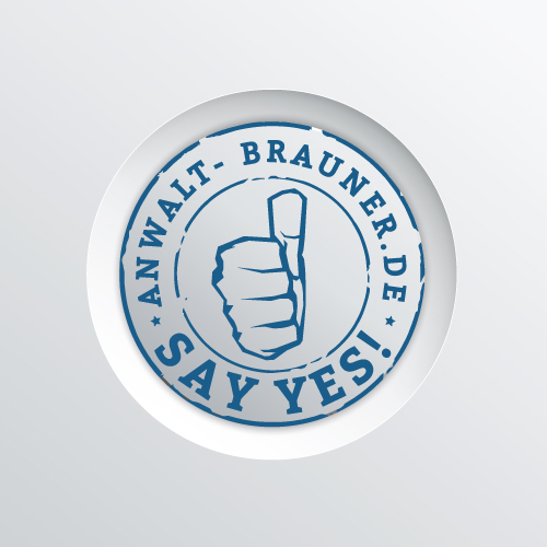 Rechtsanwalt-Brauner-Bamberg-Say-No-Say-Yes-Kampagne-YES-a